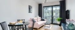 Urocze mieszkanie Poznań salon